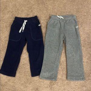 Carter's Polar Fleece Pants, set of two, size 2T